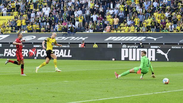Haaland has already scored 13 goals for Borussia Dortmund this season