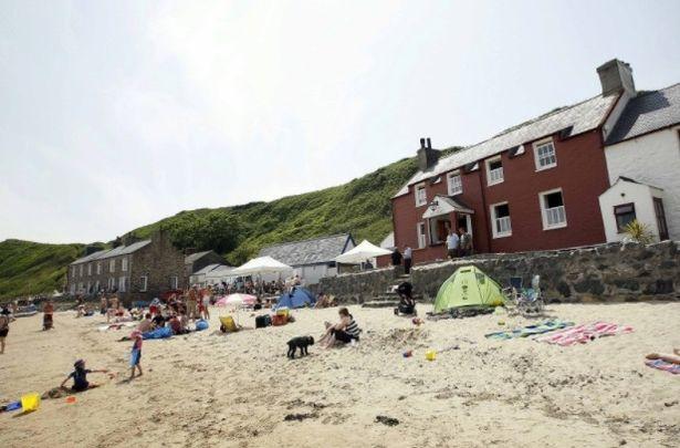 Ty Coch Inn was voted third best beach bar in the world