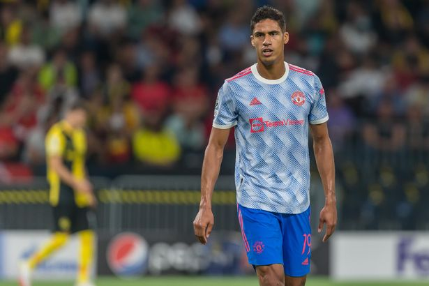 Raphael Varane was signed for £42m by Manchester United, a lower fee than Arsenal's £50m to sign White