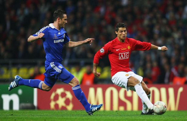 Frank Lampard and Cristiano Ronaldo enjoyed many battles during their title challenges between 2003 and 2009
