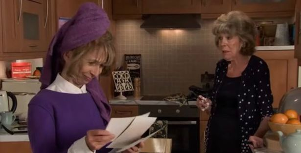 Viewers were happy to see Gail and Audrey back together