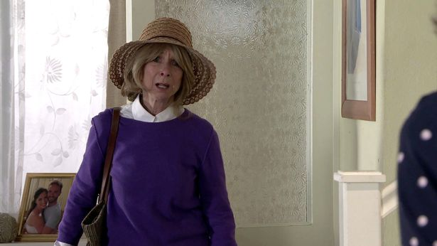 Gail returned after a stint in Thailand