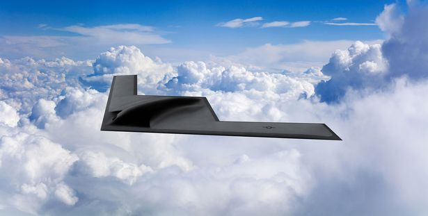 Some viewers suggested it could be a testing vehicle for the new B-21 stealth bomber aircraft
