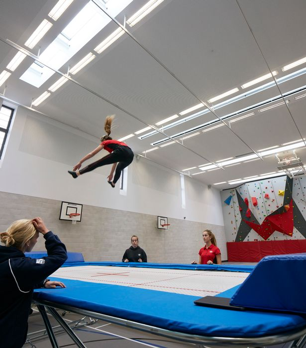 Trampolining tops the list of activities kids wish they could do in primary schools