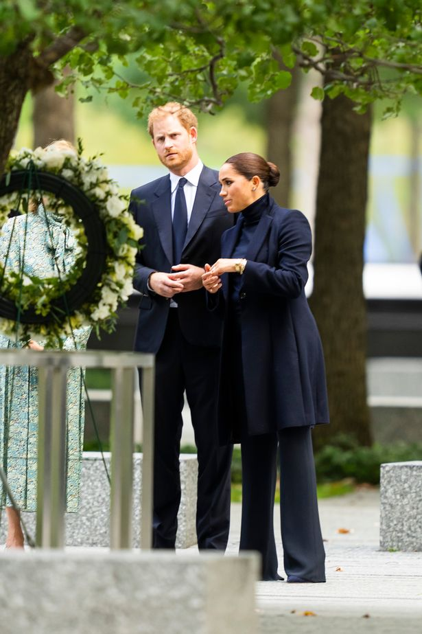 Harry and Meghan visited the World Trade Centre
