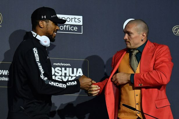 Anthony Joshua recalls days of fights in Tottenham nightclubs and £2 drinks