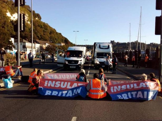 Insulate Britain have been taking part in protests on busy roads including the M25