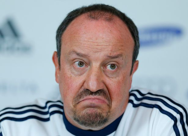 """Rafa Benitez blasted what he saw as the """"agenda"""" of some fans"""