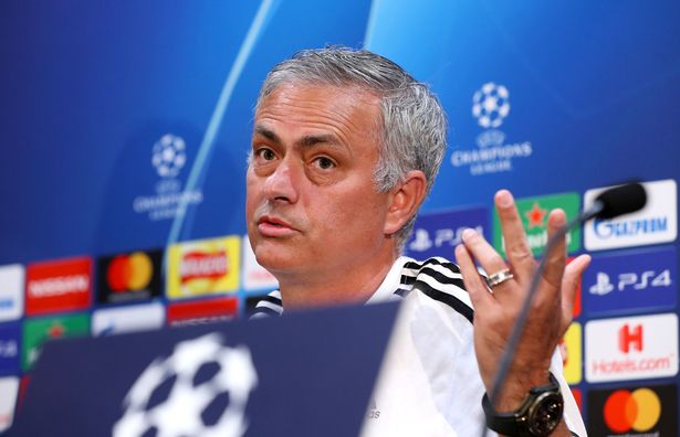 Mourinho ranted about Manchester United's record in Europe since Sir Alex Ferguson's retirement