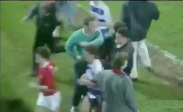 Brian Clough gave pitch invaders a clip round the ear after Nottingham Forest beat QPR
