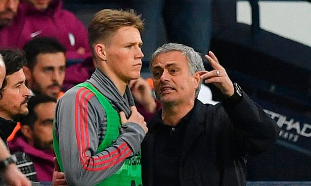 Jose Mourinho lashed out at fans who jeered Scott McTominay