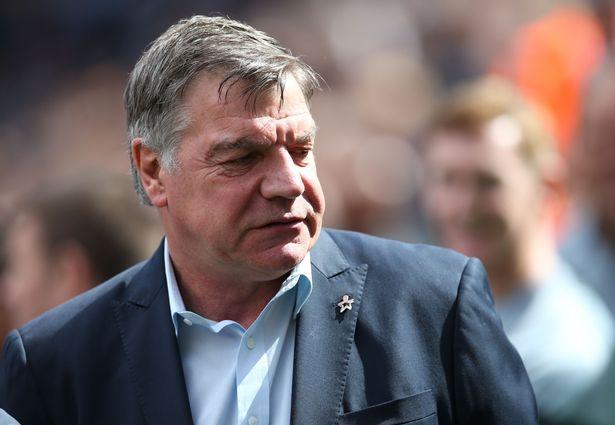 "Sam Allardyce slammed fans for getting ""on players' backs"""