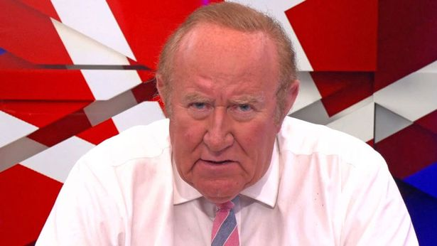Andrew was one of the founding members of GB News but insists any extra time at the network would have killed him