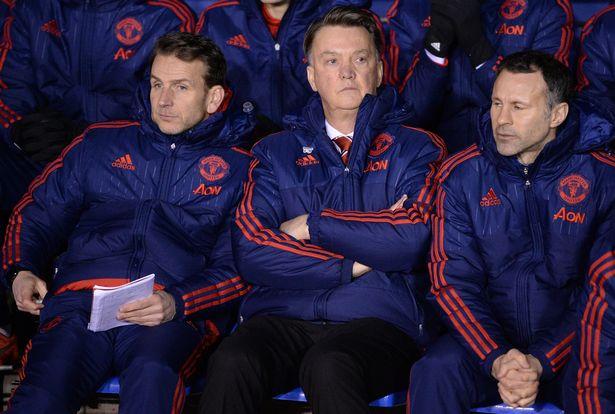 Stuivenberg and Van Gaal left United in 2016