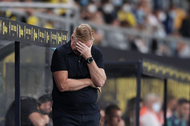 Ronald Koeman given dugout ban as Barcelona career hangs by a thread after latest draw
