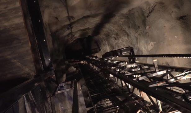 Glenwood Caverns Adventure Park mine shaft