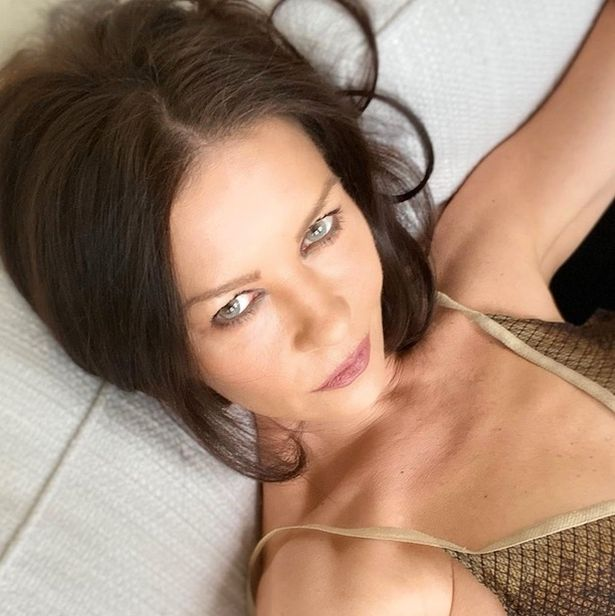 Catherine's Instagram page has become quite the hot bed for steamy selfies showcasing the bombshell's timeless beauty
