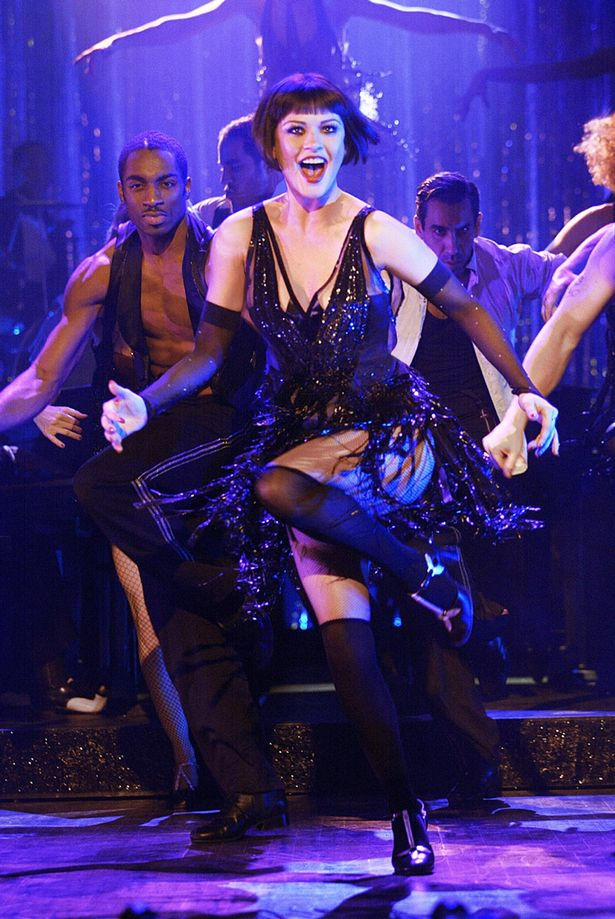 Catherine turned up the heat rocking suspenders and skimpy attire in the film Chicago
