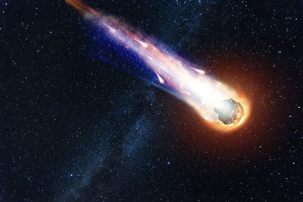 Humanity will have no defence against a comet of that size, Mr Heeren said