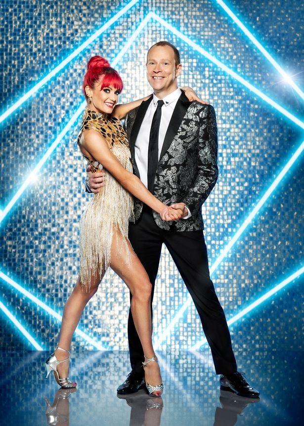 Robert is appearing on the next series of Strictly