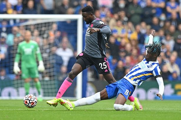 Leicester City's Wilfred Ndidi is a potential alternative to Declan Rice