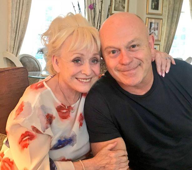Ross Kemp and Barbara Windsor