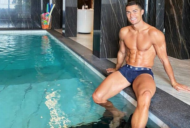 Cristiano Ronaldo keeps himself fit in a number of different ways