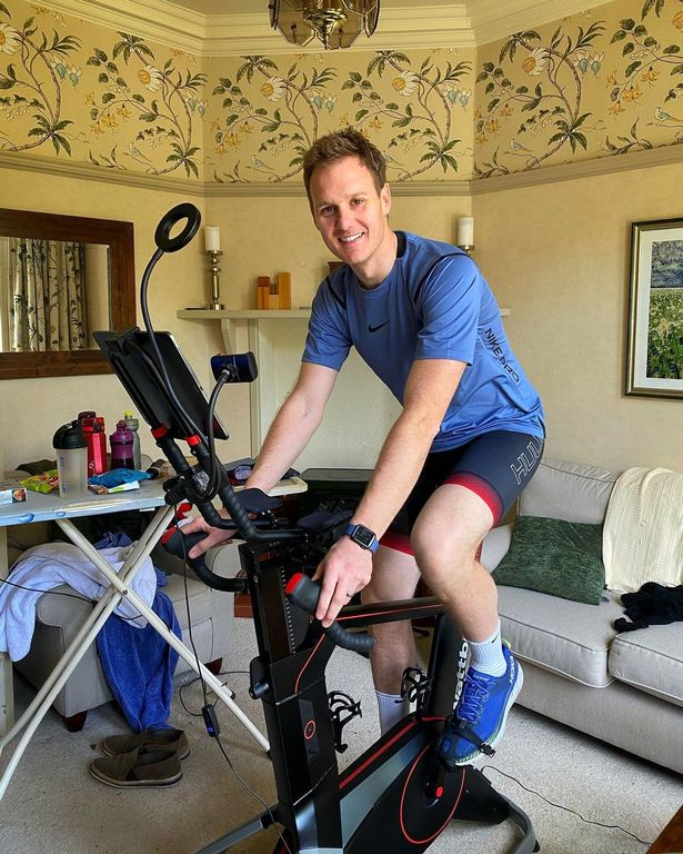 Dan Walker shares snaps from his cosy home on social media