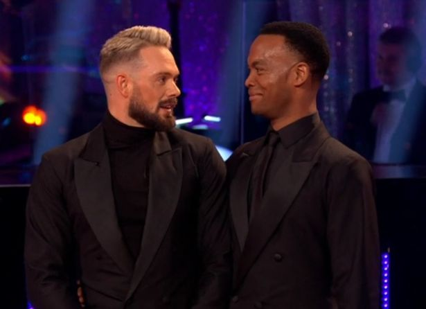 Strictly's Johannes tears up as he and John make history with first all-male dance