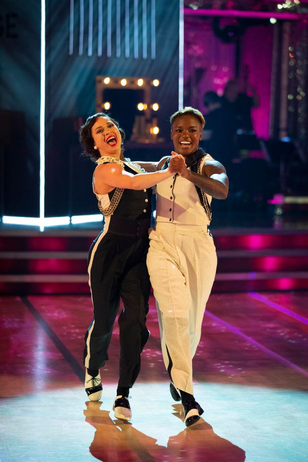 Last year Olympian Nicola Adams and Katya Jones were kicked out of the competition when the pro dancer tested positive