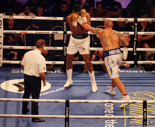 Anthony Joshua lost his titles to Oleksandr Usyk