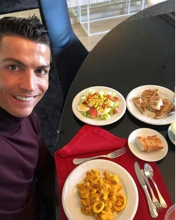 Cristiano Ronaldo's strict diet allows him to at up to six times a day