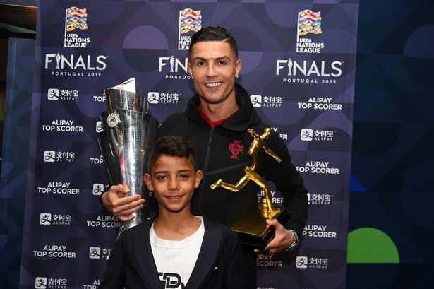 Cristiano Ronaldo 'wants to retire at Man Utd' and could coach son Cristiano Jr