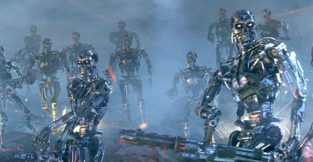 The battlefield of the future could see a lot more robots than humans