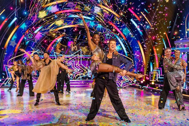 Strictly 2021 launch show