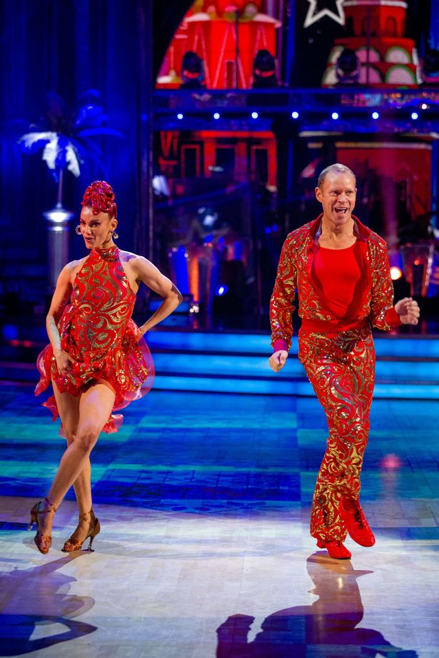Diane Buswell and Robert Webb during the dress run for the first episode of Strictly Come Dancing 2021.