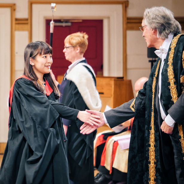 Princess Mako studied for a masters degree at the University of Leicester