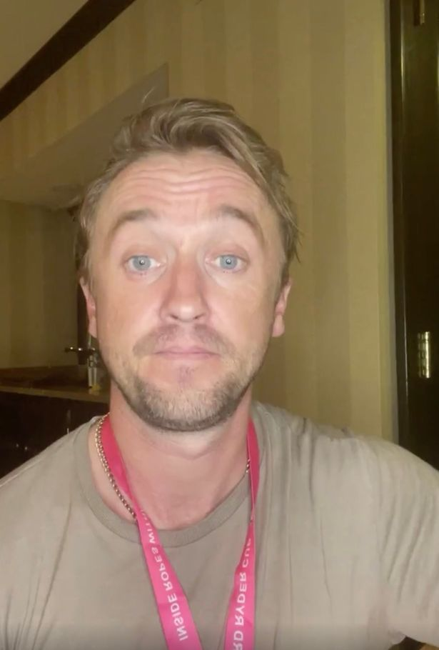 Harry Potter star Tom Felton assures fans he's 'on the mend' after golf course collapse