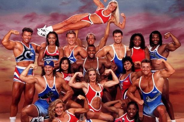 Gladiators was one of the most popular programmes in the 90s