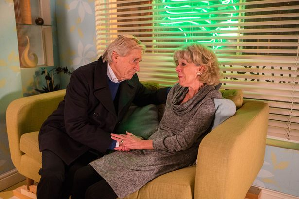 Ken Barlow found Audrey after she suffered a heart attack