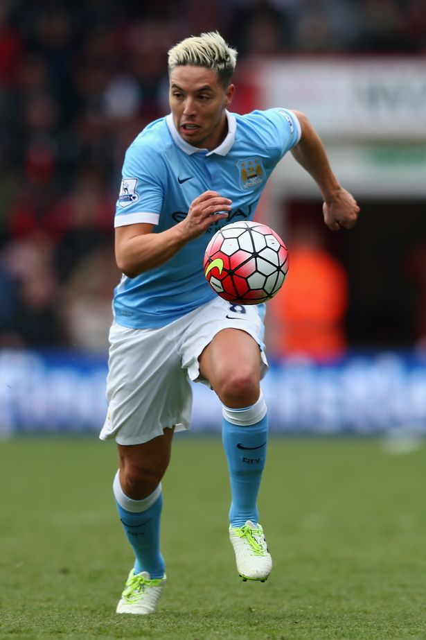 Nasri was on loan at Sevilla from Manchester City at the time of the incident