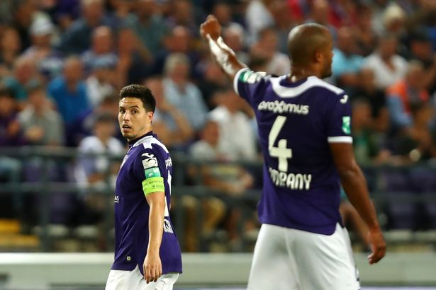 He last played for Anderlecht with former Man City team-mate Vincent Kompany