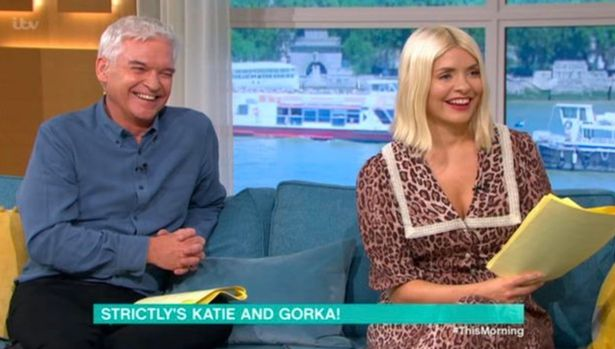 Image of Phil and Holly on This Morning