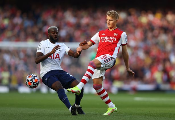 Martin Odegaard controlled things from the no.10 position