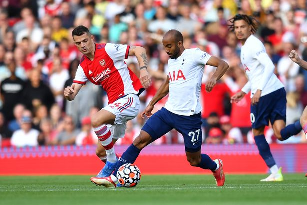 Granit Xhaka was dominant on his return to the Arsenal line up