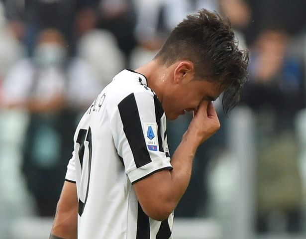 Paulo Dybala will miss the midweek game against Chelsea