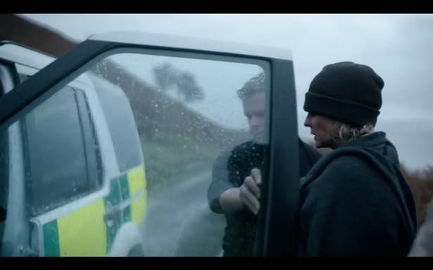 Ulrika Jonsson rushed into ambulance one the first day of filming after a naked run. Get over it!