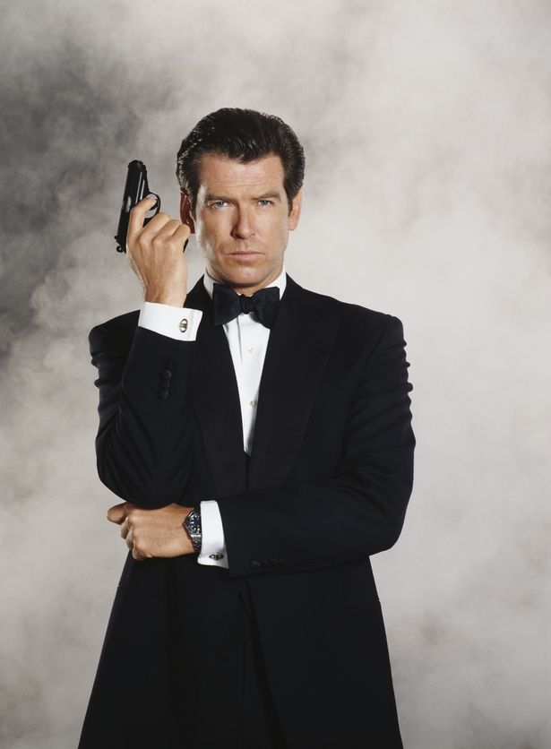 Pierce Brosnan stars as 007