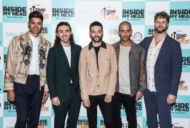 Tom recently reunited with his The Wanted bandmates in aid of Stand Up To Cancer