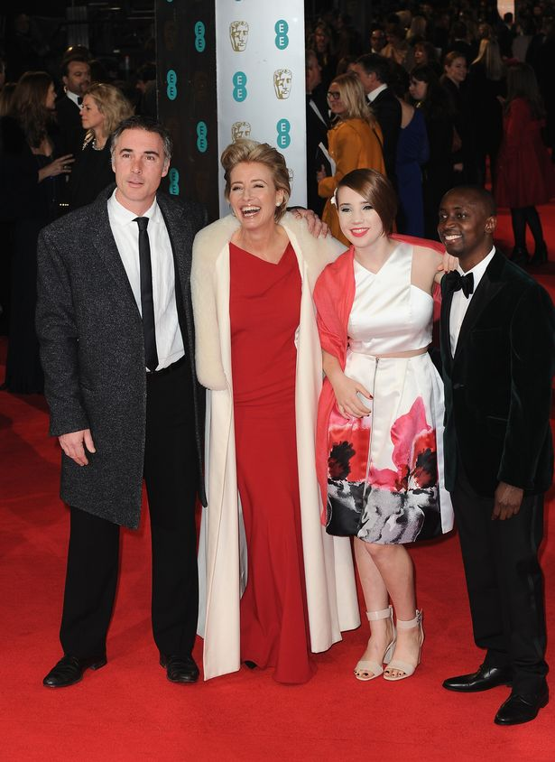 Greg Wise and Emma Thompson informally adopted Gaia Wise's brother, Tindyebwa Agaba Wise after he was rescued from Rwanda